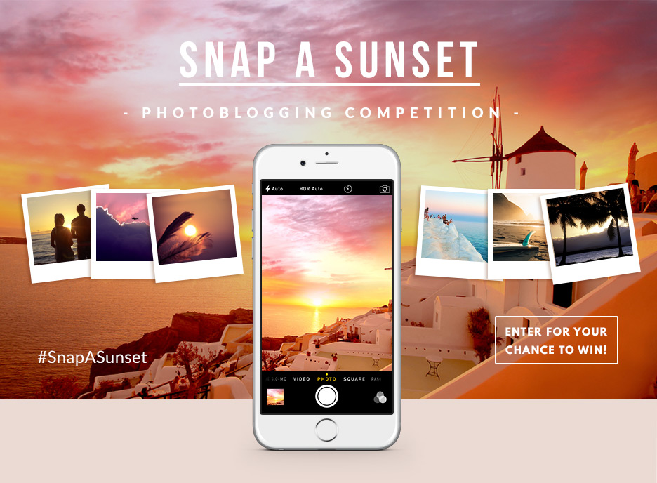 Snap a Sunset – Competition for Bloggers - logo