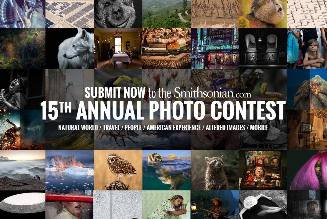 15th Annual Smithsonian.com Photo Contest 2017 - logo
