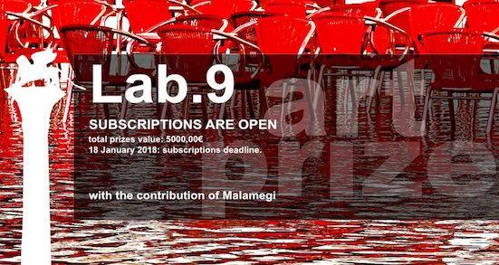 Lab.9 art contest - logo