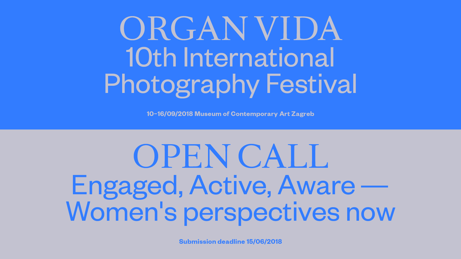 Engaged, Active, Aware – Women's perspectives now - logo