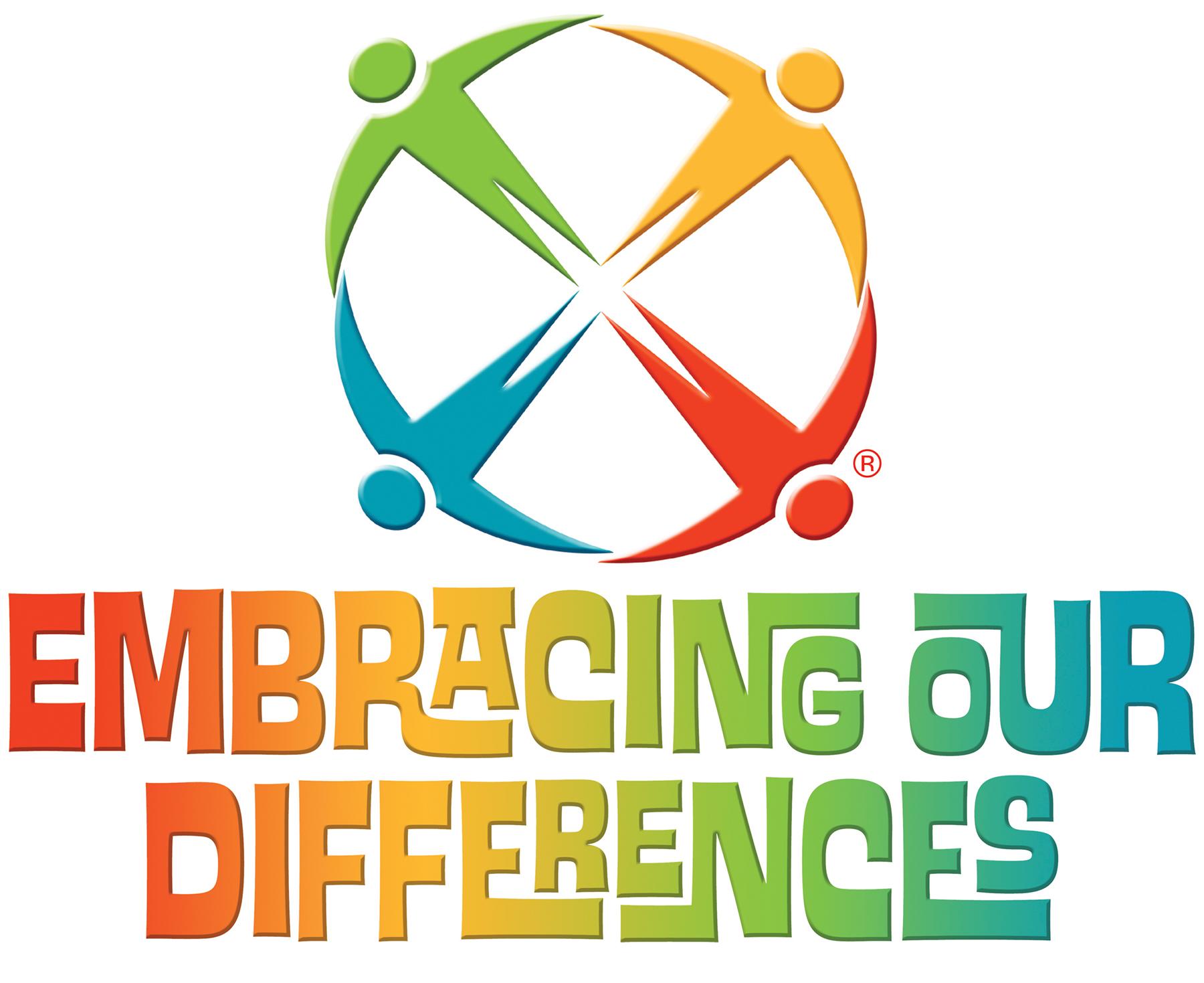 Embracing Our Differences International Art Exhibit Celebrating Diversity 2019 - logo
