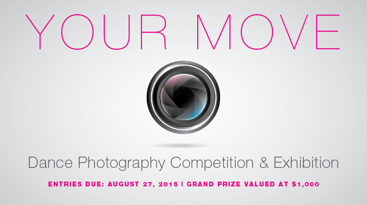 YOUR MOVE: Dance Photography Competition & Exhibition - logo