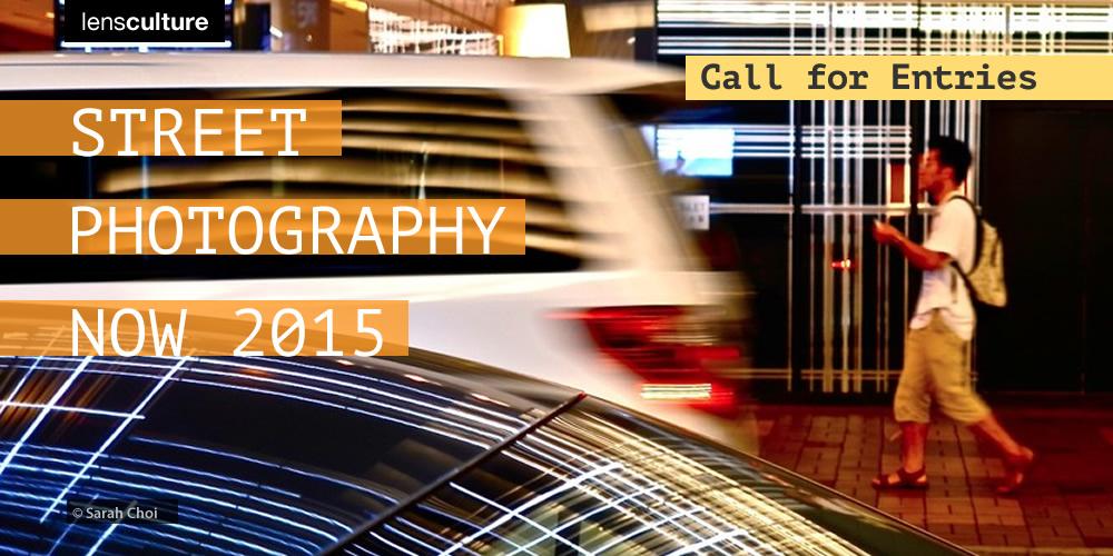 LensCulture's Street Photography Now 2015 - logo