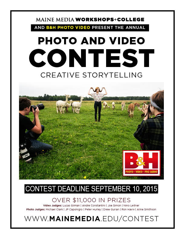 2015 Maine Media Creative Storytelling Photo-Video Contest - logo