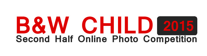 B&W CHILD PHOTO COMPETITION 2015  – 2nd Annual International Photo Contest in B&W Child Photography - logo