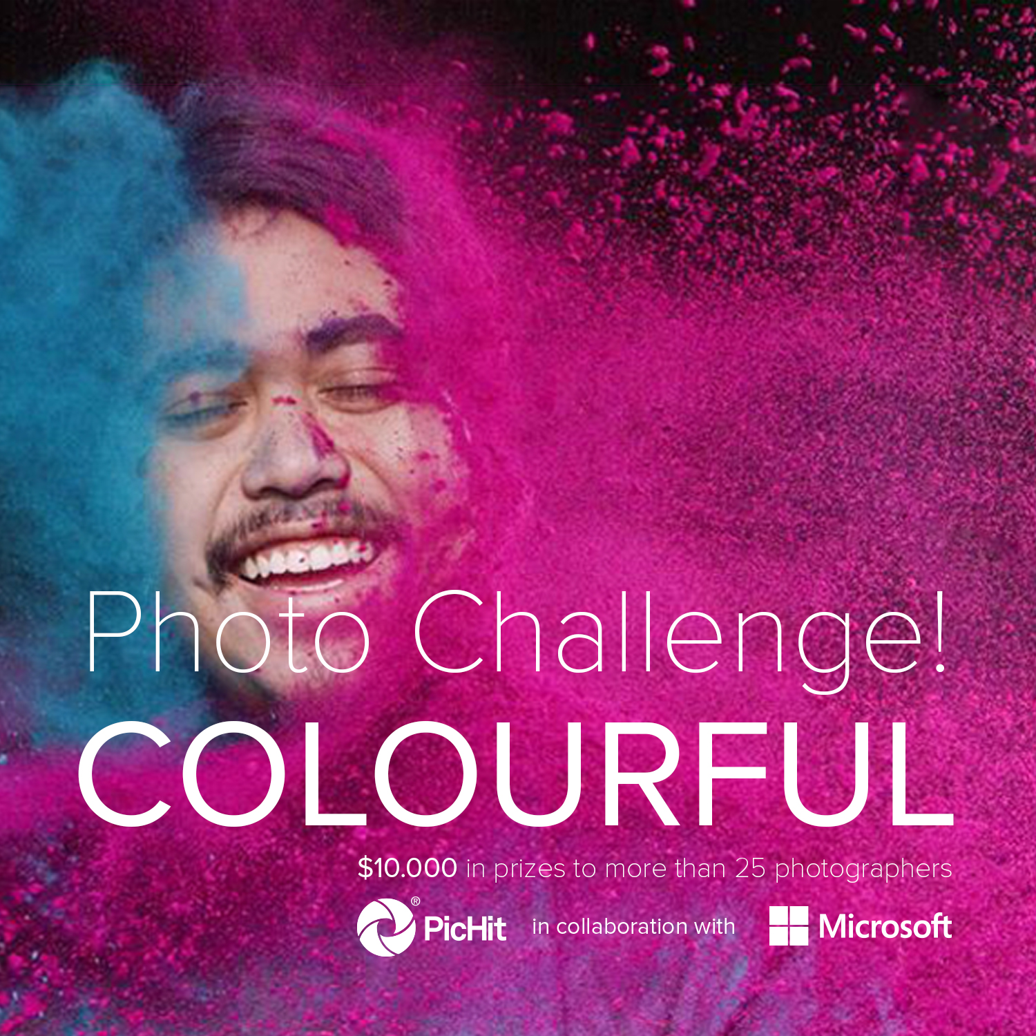 Colourful: PicHit & Microsoft Photo Contest - logo