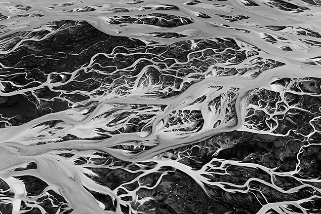 1st Place Winner – Abstract Photographer of the Year 2015 – Veins of Earth by Sarah Martinet (France)