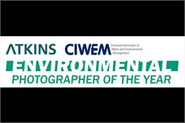 Atkins CIWEM Environmental Photographer of the Year Award - logo