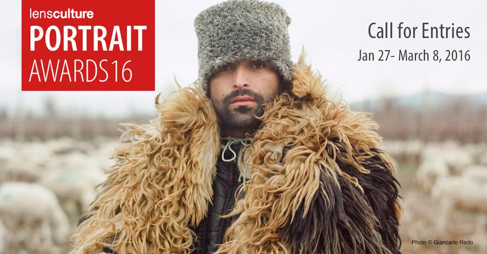 LensCulture Portrait Awards 2016 - logo