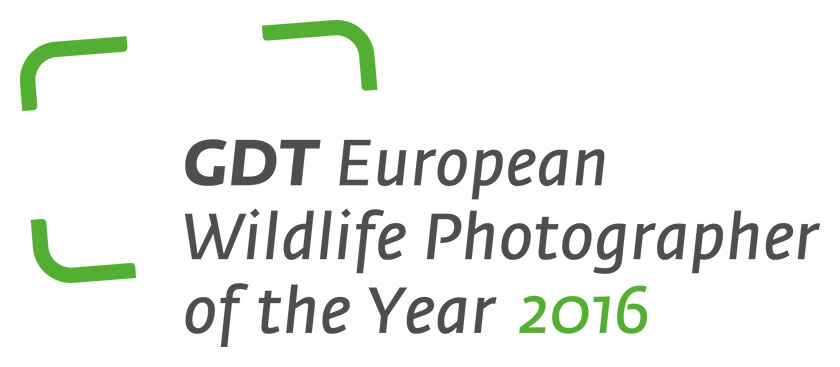 GDT European Wildlife Photographer of the Year 2016 - logo