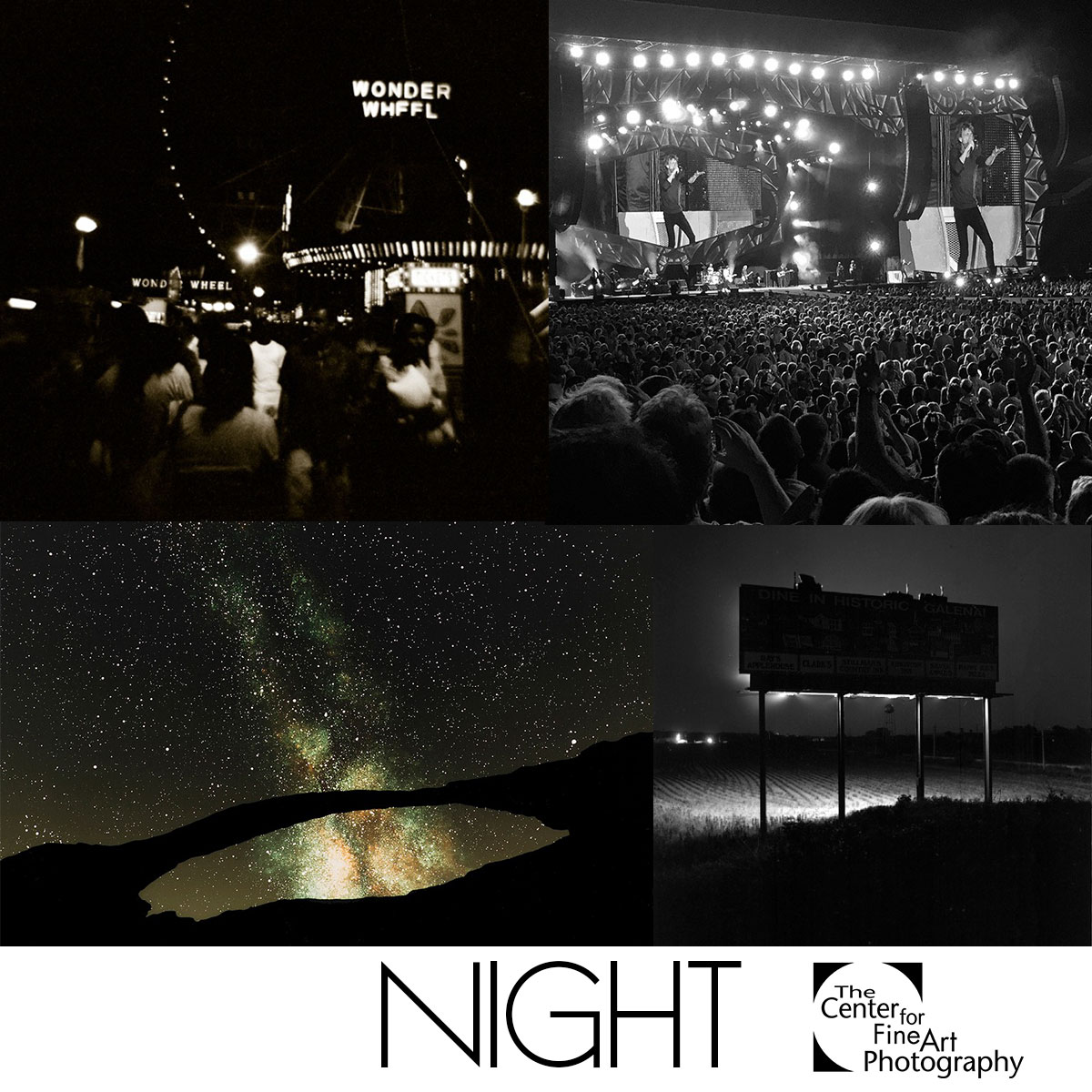 NIGHT with Juror Sean Corcoran | International Photographic Call for Entries - logo
