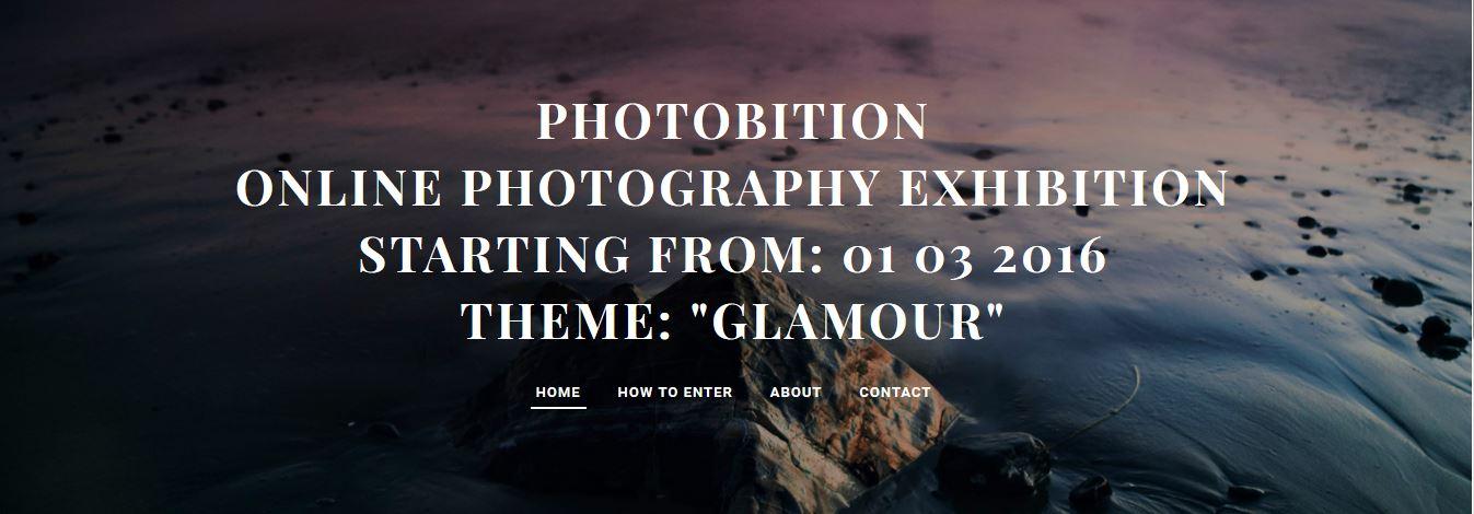 Photobition-2nd Online Photography Exhibition - logo