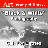"""Call for Entries """"Black & White Photography"""" – for an Online Group Exhibition - logo"""