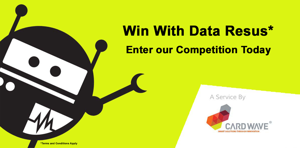 Share Your Memories to Win with Data Resus – A New Service from Cardwave - logo