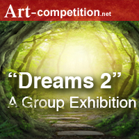 "Call for Entries ""Dreams 2"" – for an Online Group Exhibition - logo"