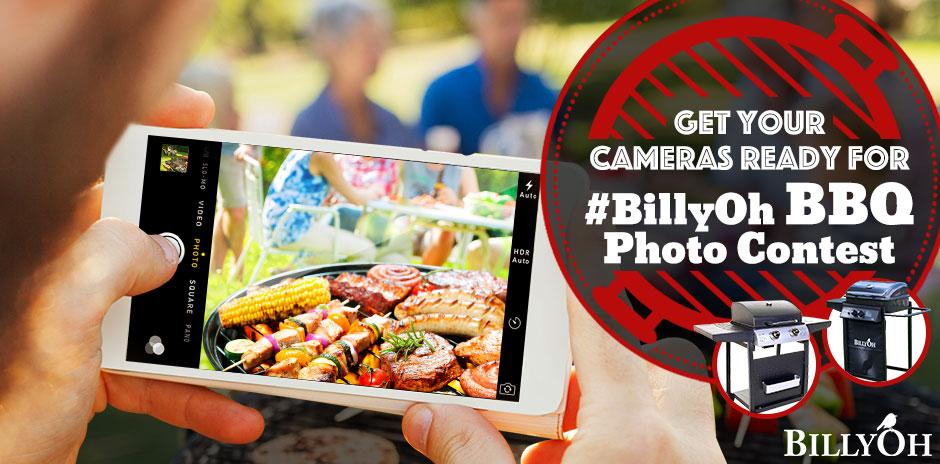BillyOh BBQ Photo Contest - logo