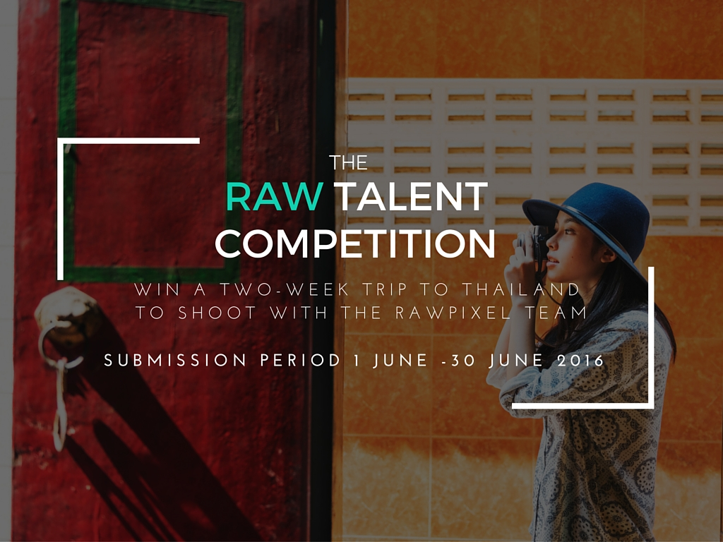 The RAW Talent Competition - logo