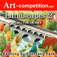 """Call For Entries, """"Landscapes 2"""" – $8,125 in Cash & Art Marketing Prizes - logo"""