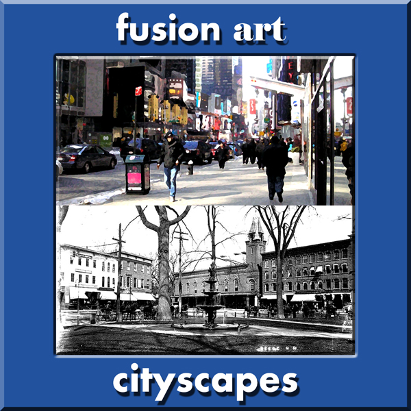 Cityscapes International Online Juried Art Competition - logo