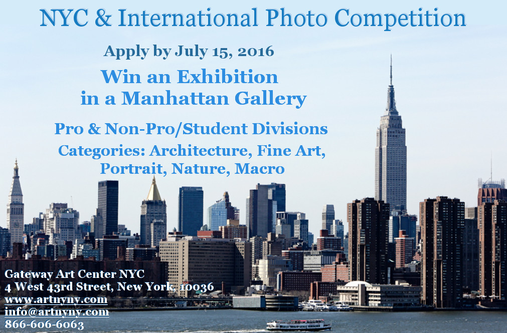 NYC & International Photo Competition - logo