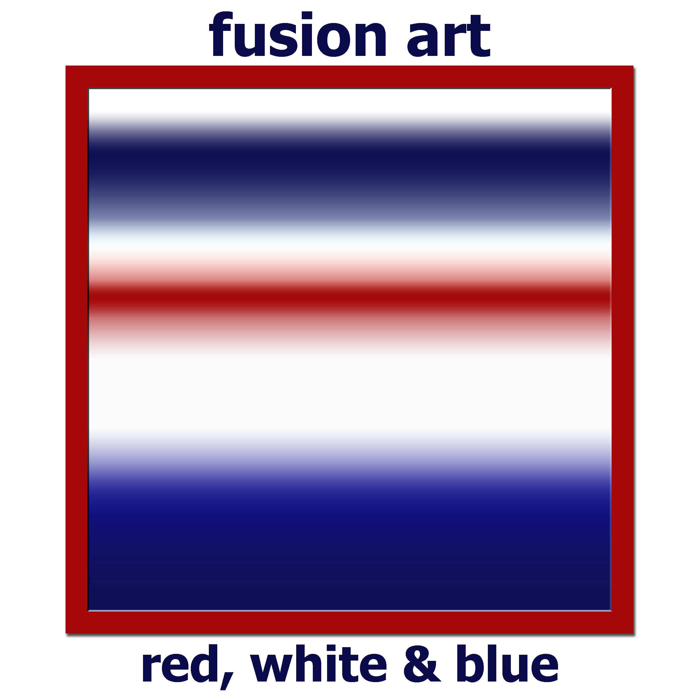 Red, White &/or Blue International Online Juried Art/Photo Competition - logo