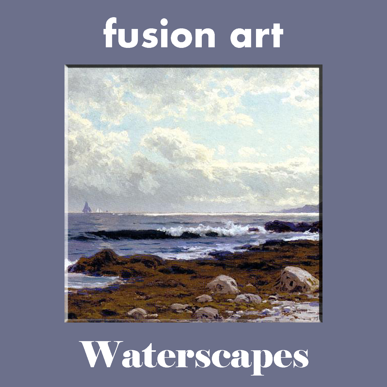 Waterscapes International Online Juried Art Competition - logo