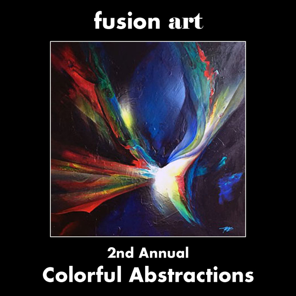 2nd Annual Colorful Abstractions International Juried Art Competition - logo