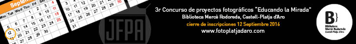 "Photography contest Library Mercè Rodoreda 2016  ""Educating the Eye"" - logo"
