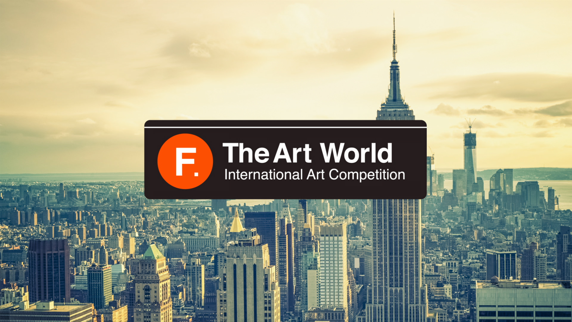 F The Art World – International Art Competition - logo