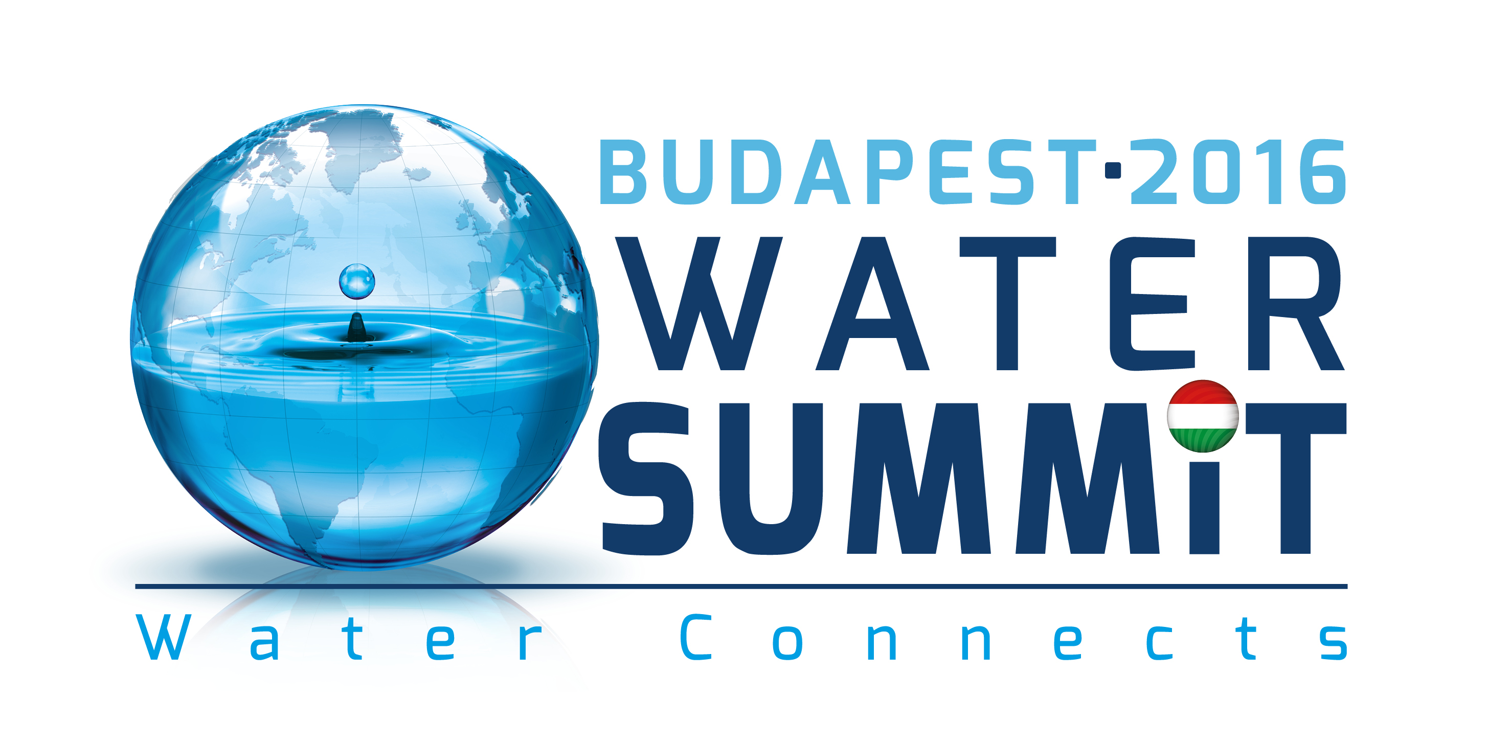 Water Connects – photo and video contest on the occasion of Budapest Water Summit 2016 – Capa Center, Budapest - logo