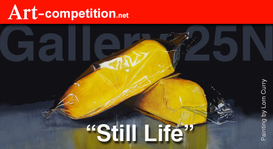 Still Life – Call to artists for a group exhibit at Gallery 25N - logo