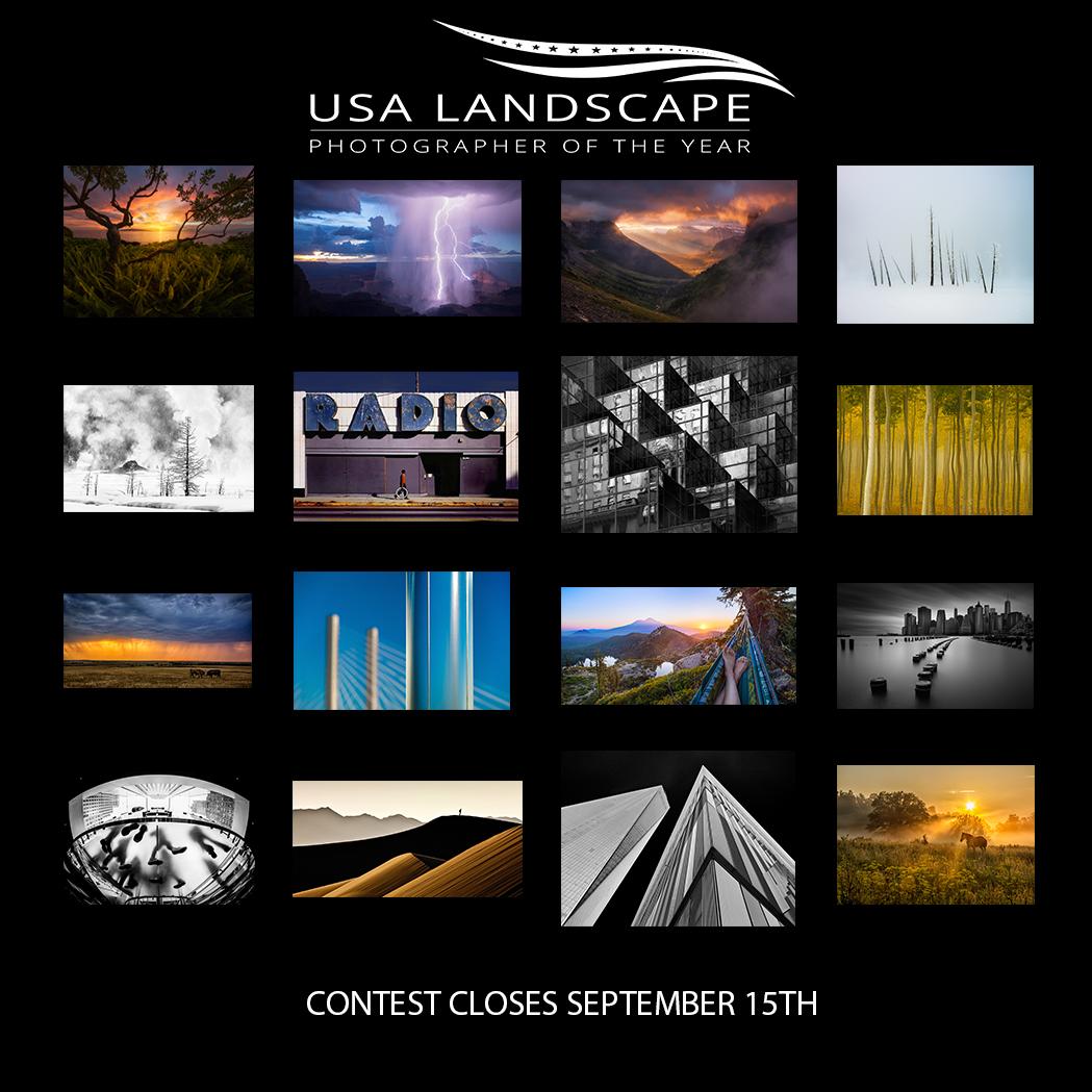 USA Landscape Photographer of the Year 2016 - logo