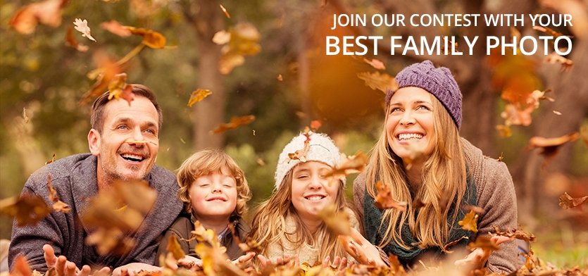 """Photo contest """"Family and love"""" - logo"""