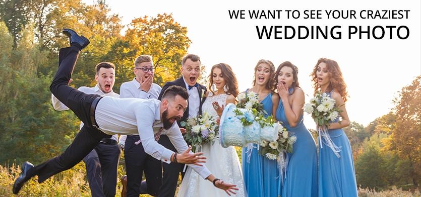 """The Craziest Wedding Photos"" - logo"
