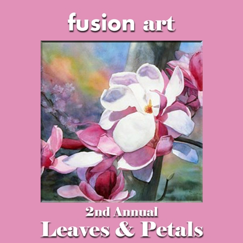 "2nd Annual ""Leaves & Petals"" International Juried Art/Photography Competition - logo"