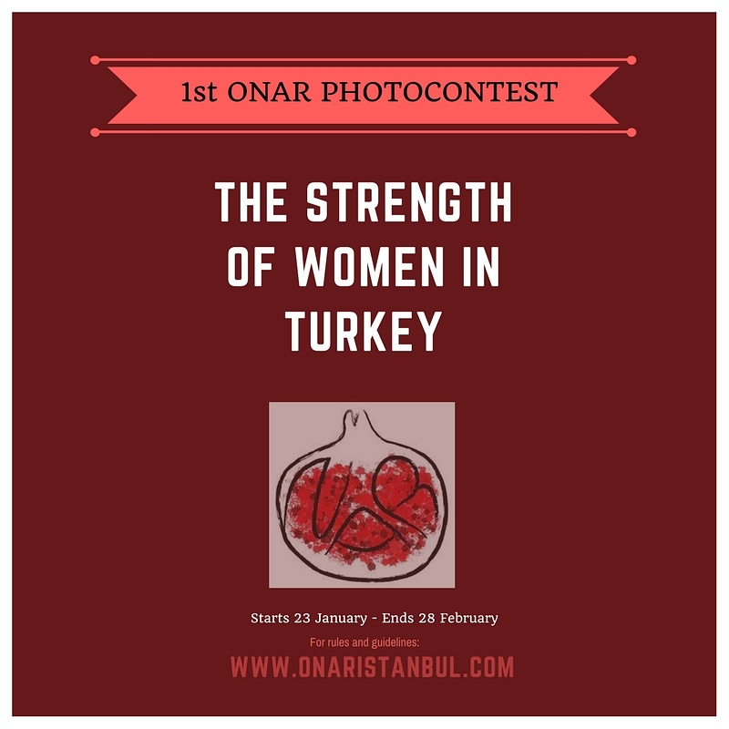 THE STRENGTH OF WOMEN IN TURKEY - logo