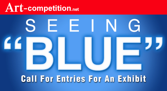 """Call For Entries """"Seeing Blue"""" – 20 Artists Group Exhibition - logo"""