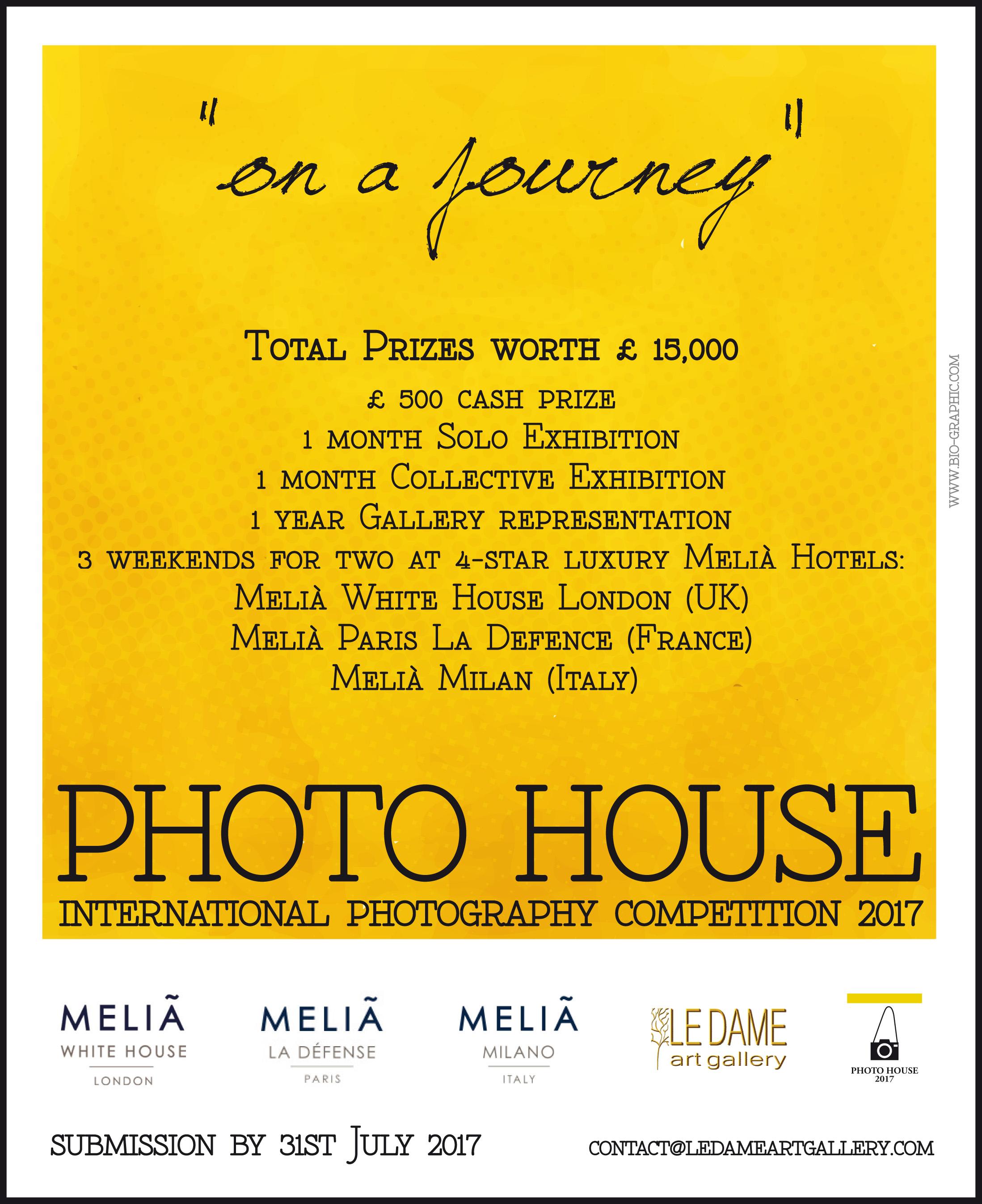 "PHOTO HOUSE ""On a journey"" - logo"