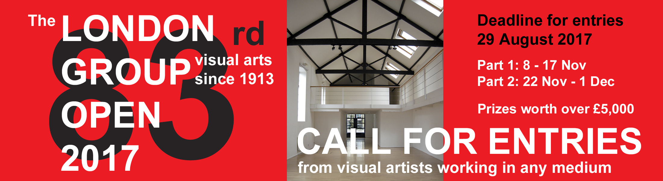 The London Group Open 2017 – Call for Entries - logo