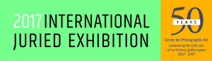 Center for Photographic Art: 2017 International Juried Competition - logo