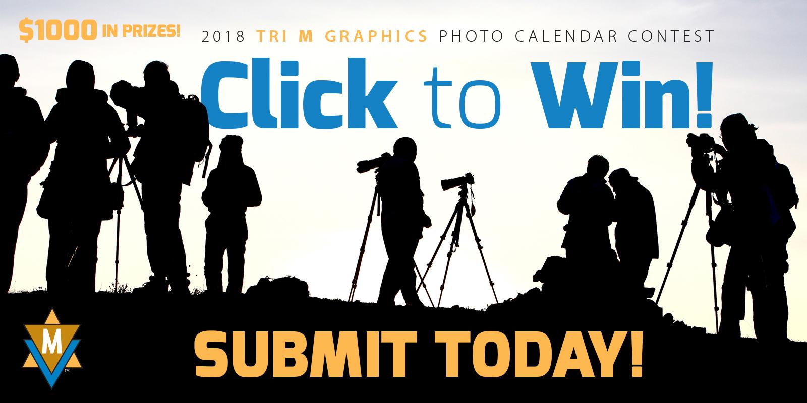 Tri M Graphics 2018 Photo Calendar Contest - logo