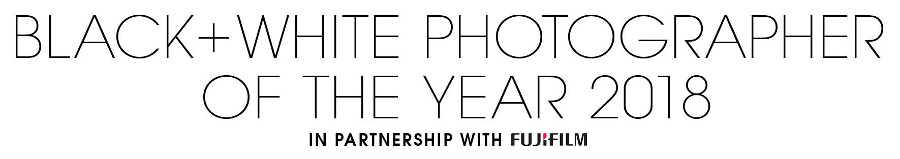 Black+White Photographer of the Year 2018 - logo
