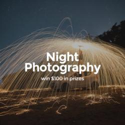 Night Photo Challenge - logo