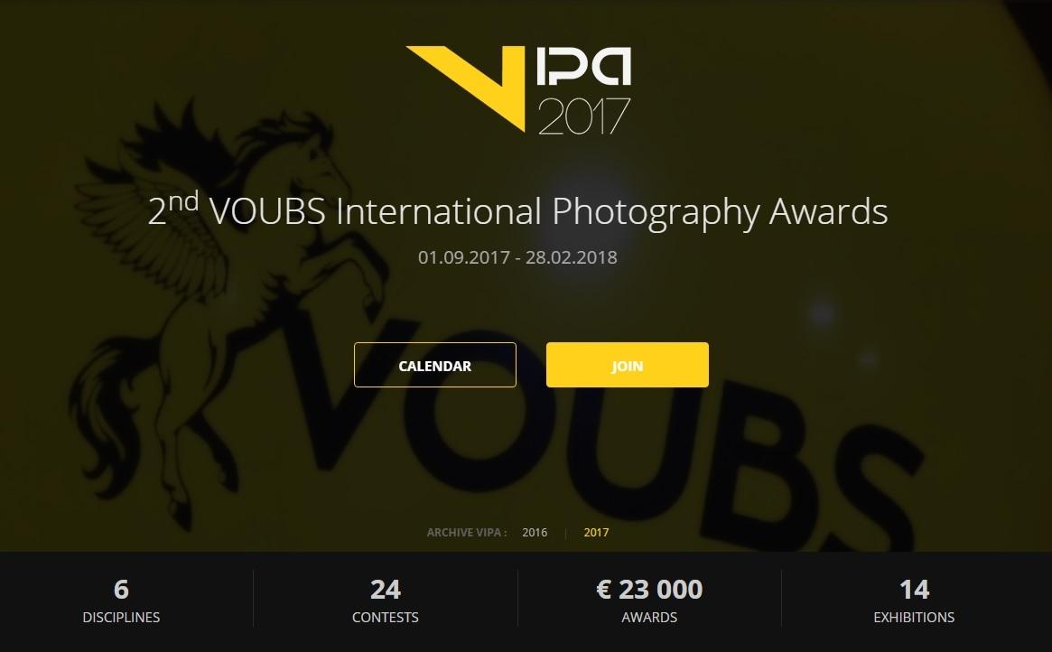 VIPA International Photography Awards 2017 - logo