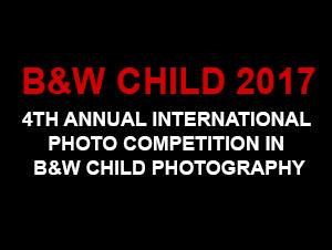 B&W Child 2017 Photo Competition - logo