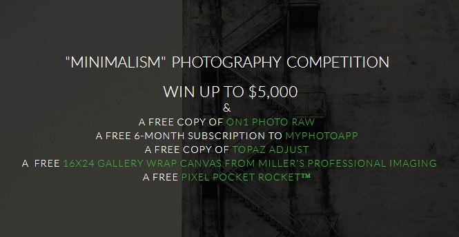 Minimalism Photography Competition – Win Up To $5,000! - logo