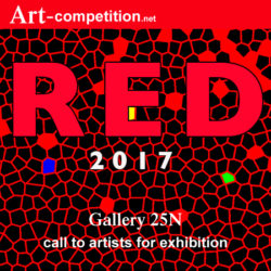 "Call For Exhibition ""RED 2017"" - logo"