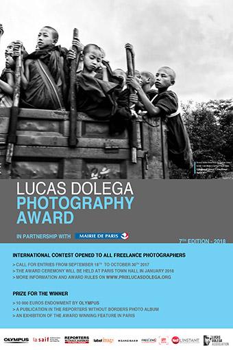 Lucas Dolega Award 2018 - logo