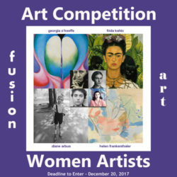 Women Artists International Art/Photo Competition - logo