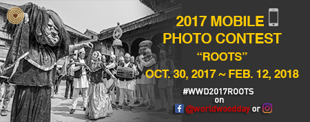 2017 World Wood Day MOBILE PHOTO CONTEST - logo